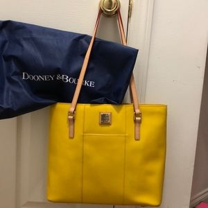 Dooney & Bourke New Sunflower Tote/ YELLOW COLOR:)